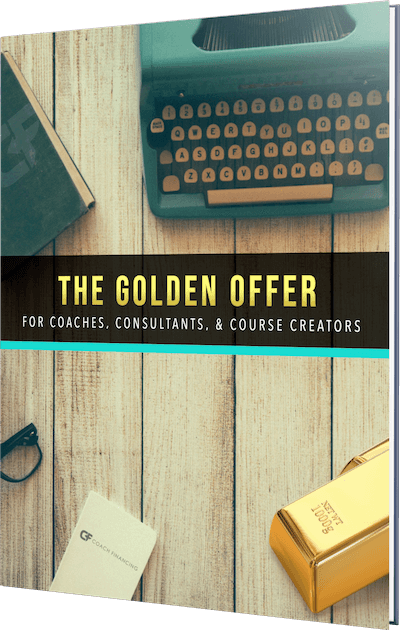 The Golder Offer report for coaches, consultants, and course creators.